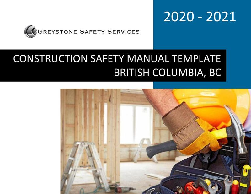 worksafebc construction ladder lockout fall protection scaffolding excavations whmis electrical confined space safety procedures policy program template bc british columbia vancouver surrey burnaby richmond delta langley victoria nanaimo abbotsford mission coquitlam maple ridge new westminster kelowna kamloops